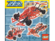 Instruction No: 3581  Name: Formula Z Car in Storage Case