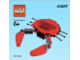 Instruction No: 40067  Name: Monthly Mini Model Build Set - 2013 07 July, Crab polybag