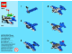 Instruction No: 40102  Name: Monthly Mini Model Build Set - 2014 09 September, Racing Plane polybag