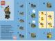 Instruction No: 40134  Name: Monthly Mini Model Build Set - 2015 09 September, Scuba Diver polybag