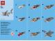 Instruction No: 40136  Name: Monthly Mini Model Build Set - 2015 11 November, Shark polybag