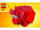 Instruction No: 40155  Name: Coin Bank, Red Piggy Bank