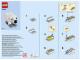 Instruction No: 40208  Name: Monthly Mini Model Build Set - 2016 01 January, Polar Bear polybag