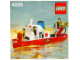 Instruction No: 4025  Name: Fire Boat