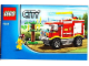 Instruction No: 4208  Name: 4 × 4 Fire Truck