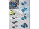 Instruction No: 4301  Name: Blue Racer polybag