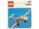 Instruction No: 455  Name: Learjet (Lear Jet)