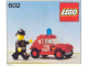 Instruction No: 602  Name: Fire Chief's Car