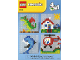Instruction No: 6162  Name: A World of LEGO Mosaic 4 in 1
