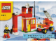 Instruction No: 6191  Name: Fire Fighter Building Set