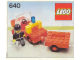 Instruction No: 640  Name: Fire Truck and Trailer