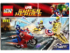 Instruction No: 6865  Name: Captain America's Avenging Cycle