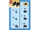 Instruction No: 6965  Name: TIE Interceptor - Mini polybag