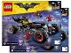 Instruction No: 70905  Name: The Batmobile