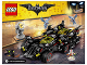 Instruction No: 70917  Name: The Ultimate Batmobile