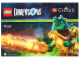 Instruction No: 71223  Name: Fun Pack - Legends of Chima (Cragger and Swamp Skimmer)