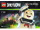 Instruction No: 71233  Name: Fun Pack - Ghostbusters (Stay Puft Bibendum Chamallow and Terror Dog)