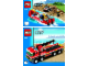 Instruction No: 7213  Name: Off-Road Fire Truck & Fireboat