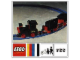 Instruction No: 722  Name: 12V Electric Train with 2 Wagons