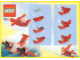 Instruction No: 7222  Name: Small Red Helicopter polybag