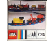 Instruction No: 724  Name: 12V Diesel Locomotive with Crane and Tipper Wagon