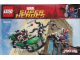 Instruction No: 76004  Name: Spider-Man: Spider-Cycle Chase