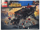 Instruction No: 76087  Name: Flying Fox: Batmobile Airlift Attack