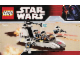 Instruction No: 7668  Name: Rebel Scout Speeder