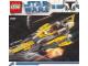 Instruction No: 7669  Name: Anakin's Jedi Starfighter, Clone Wars White Box