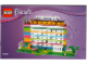 Instruction No: 850581  Name: Calendar, Brick Calendar Friends - Days and Months in English