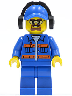 LEGO Minifigure Torso 401 PURPLE Female Blouse w GOLD Sash and Flowers Town City