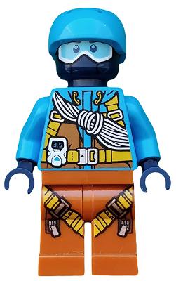 LEGO White Helmet Goggles Minifigure Accessory