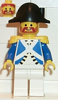Imperial Soldier Minifigures Pirates Officer pi063 Lego