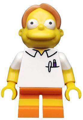 Sim018 LEGO ® minfigur Nelson Muntz-minifig ONLY NUOVO