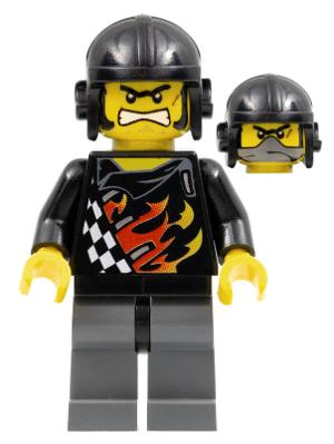 LEGO Mini Figure Minifig Backyard Blasters Racer