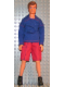 Minifig No: 23047b  Name: Scala Doll (Christian from set 3149 with clothes)