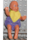 Minifig No: 23047c  Name: Scala Doll (Baby Thomas with Large Eyes Pattern from set 3149 with clothes)