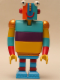 Minifig No: 4203  Name: Duplo Figure Little Robots, Stripy