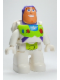 Minifig No: 47394pb128  Name: Duplo Figure Lego Ville, Male, Buzz Lightyear
