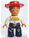 Minifig No: 47394pb129  Name: Duplo Figure Lego Ville, Female, Jessie