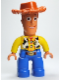 Minifig No: 47394pb130  Name: Duplo Figure Lego Ville, Male, Woody