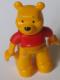 Minifig No: 47394pb140  Name: Duplo Figure Winnie the Pooh, Winnie (Lego Ville)