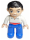 Minifig No: 47394pb155  Name: Duplo Figure Disney Princess, Prince Eric (Lego Ville)
