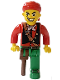 Minifig No: 4j011  Name: Pirates - Cannonball Jimmy