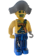 Minifig No: 4j015  Name: Pirates - Captain Kragg