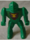 Minifig No: 51799s  Name: Knights Kingdom II - Nestle Promo Figure Rascus with Monkey Pattern (Sticker)