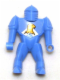 Minifig No: 51800s  Name: Knights Kingdom II - Nestle Promo Figure Jayko with Eagle Pattern (Sticker)
