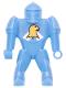 Minifig No: 51800s  Name: Knights Kingdom II - Nestle Promo Figure Jayko with Eagle Pattern (Sticker)
