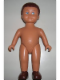 Minifig No: 61295pb02  Name: Duplo Figure Doll, Large, without Clothes, Brown Male Hair, Flesh Body