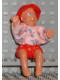 Minifig No: 71289b  Name: Scala Doll (Baby Thomas with Large Eyes Pattern from set 3241/3243 with clothes)